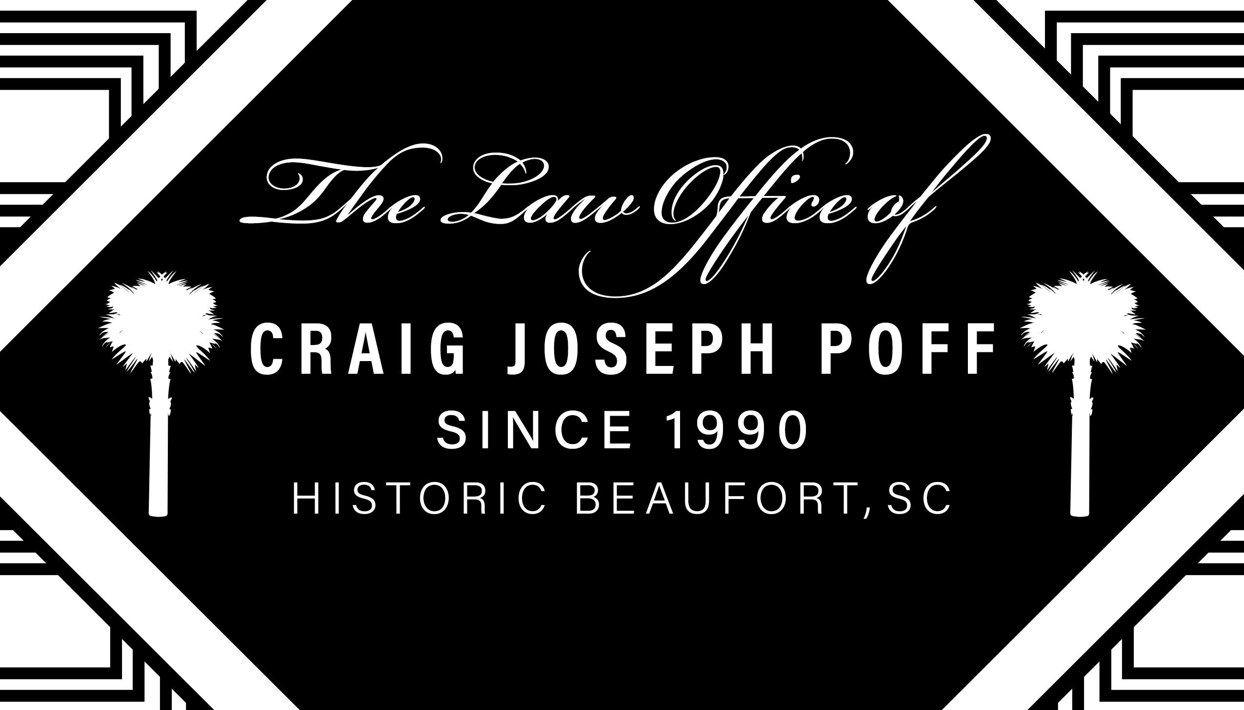Poff Law Office Since 1990 in Historic Beaufort SC